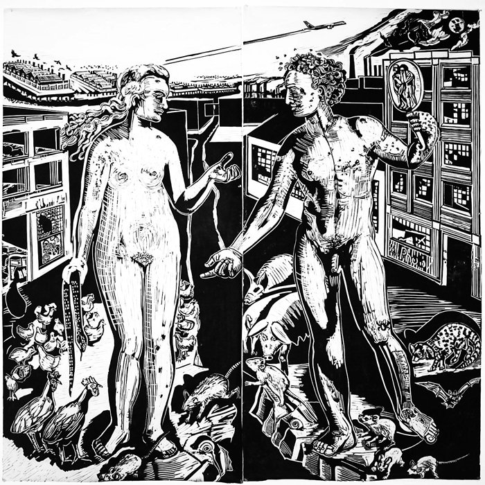 Adam and Eve Print 1