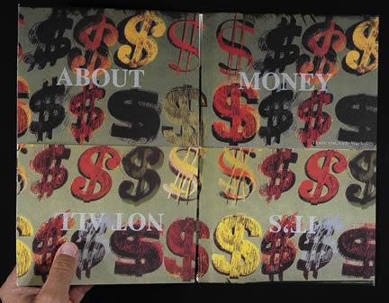 Warhol dollar signs interior