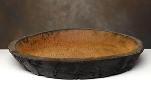 Mexican pine wooden bowl